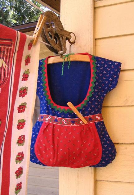 Dirndl Clothespin Bag Allfreesewing Com