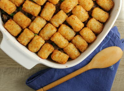 Allergy-Friendly Tater Tot Casserole