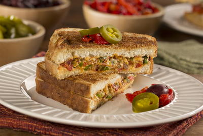 Pickled Pepper Popper Sandwich