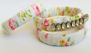 Thrifty Crystal-Bedazzled Bangles