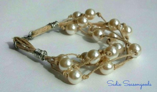 Pearls Before Twine Whimsical Bracelet
