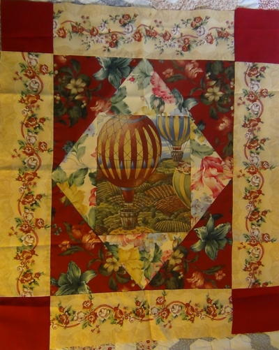 Vintage County Fair Quilt Block