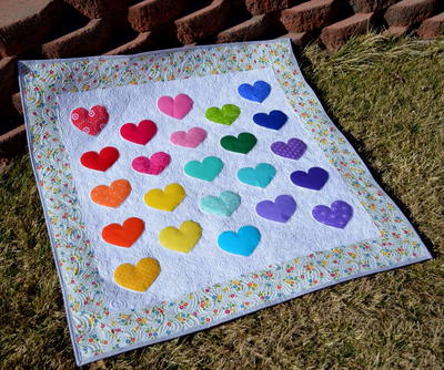 Lovey Dovey Baby Quilt