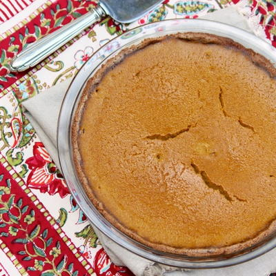 Naturally Sweet Maple Pumpkin Pie