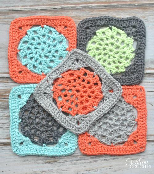 Fun and Easy Lace Crochet Flower Pattern