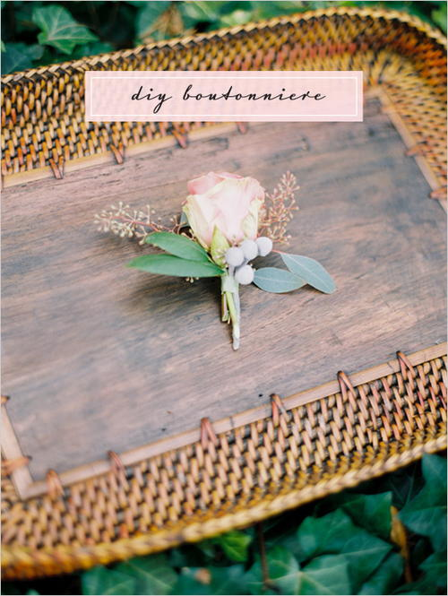 Easy DIY Boutonniere  Wedding Centerpiece Ideas