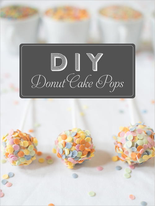 DIY Darling Donut Cake Pops