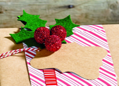 Holly and the Ivy Gift Tag