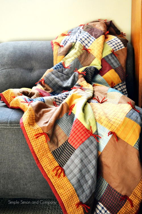 Mountain Lodge Flannel Quilt