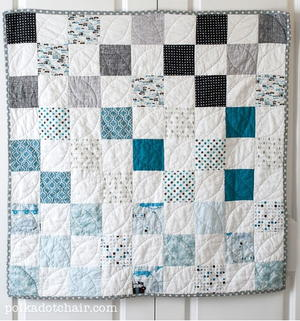 Ombre Baby Quilt Pattern