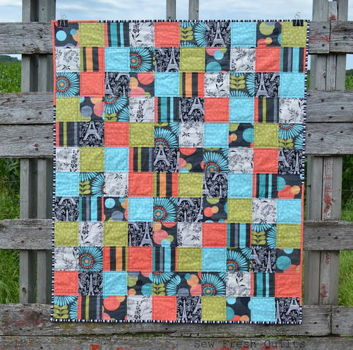 No-Fuss FQ Baby Quilt