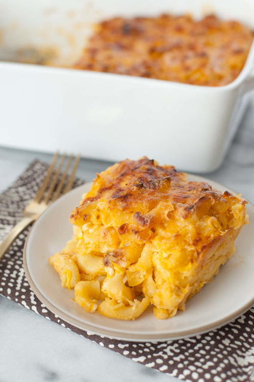 Baked Mac and Cheese with Cauliflower