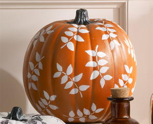 Painted Pumpkin DIY Wedding Decor