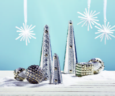 Stunning Silver Holiday Decor