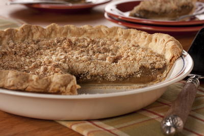 Quakertown Crumb Pie