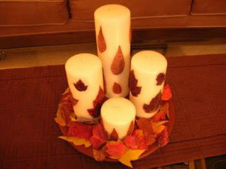 Magical Fall Candles