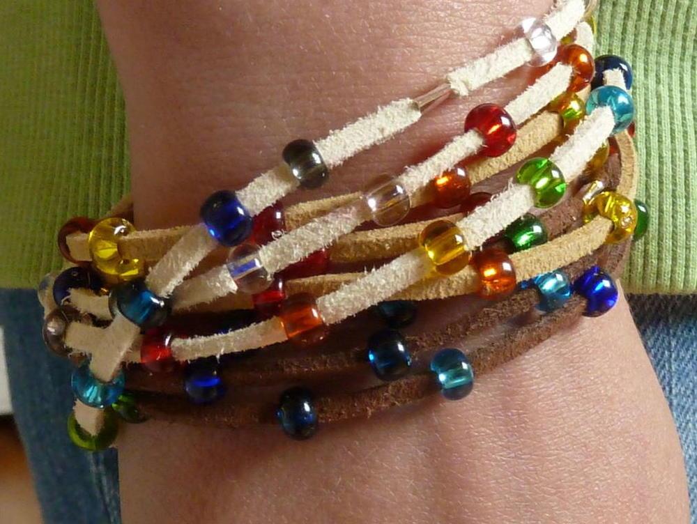 Gypsy Wrap Bracelet Allfreejewelrymaking Com