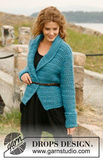 Terrifically Teal Crochet Jacket Pattern