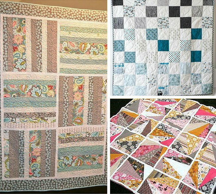 Quilting Patterns With Fat Quarters : 10 Fantastic Fat Quarter Quilt Patterns FaveQuilts.com