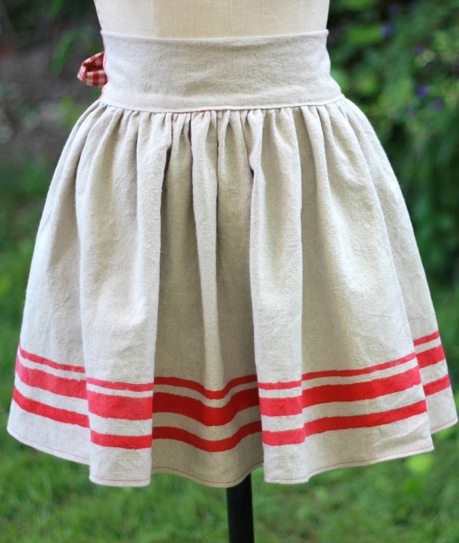 Hand Painted Diy Apron Allfreesewing Com