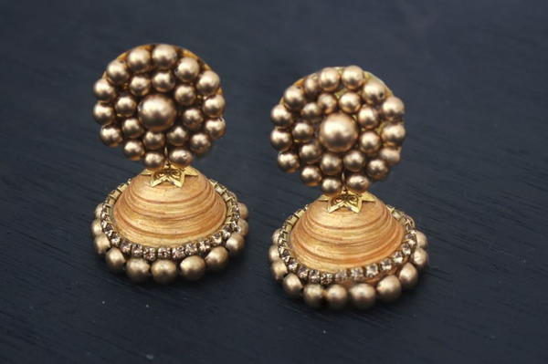 Indian Jhumka DIY Earrings
