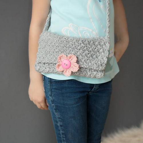 Fun for Fall Girl's Crochet Purse
