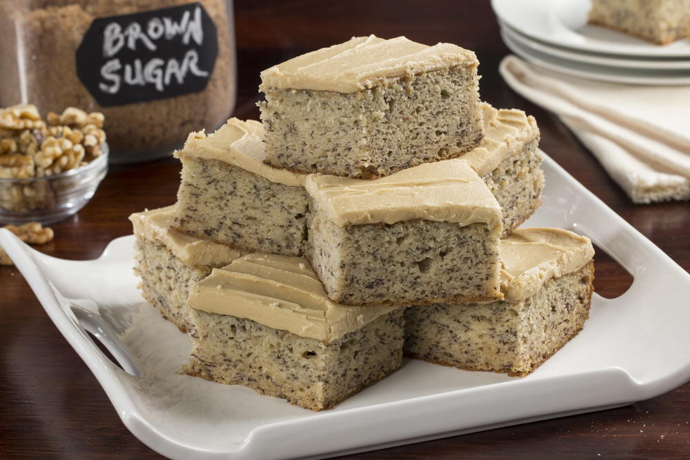 Brown Sugar Banana Cake | MrFood.com
