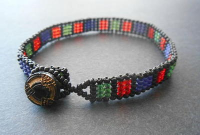 Egyptian Jewel Friendship Bracelet Pattern
