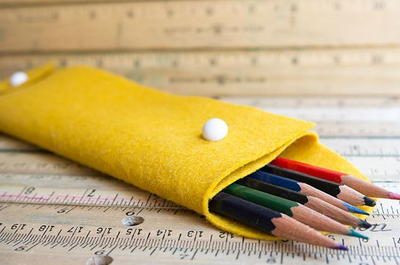 Hand Sewn DIY Pencil Case