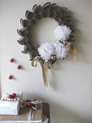 Fabulous Toilet Paper Rolls Wreath