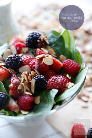 Healthier Zupas Nuts About Berries Salad