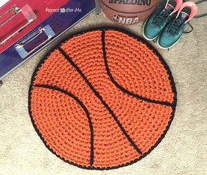 Quick and Easy Basketball Rug