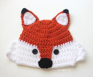 Foxy Fun Crochet Hat