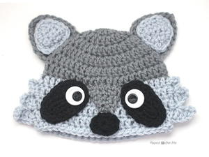 019e411e323357 35 Crochet Animal Hat Patterns | AllFreeCrochet.com