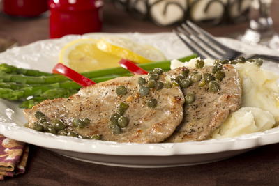 Really Easy Pork Scaloppine