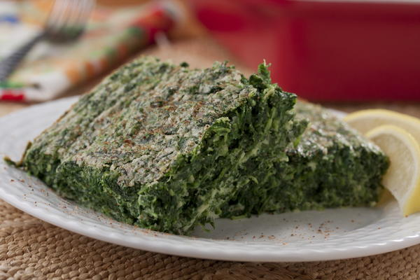 really simple spinach souffle | mrfood