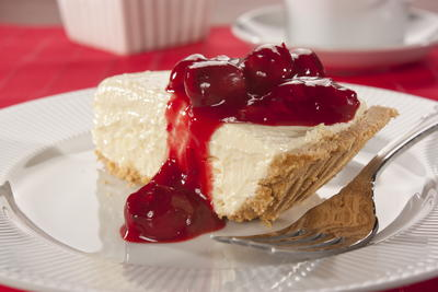 Very Cherry Cheesecake