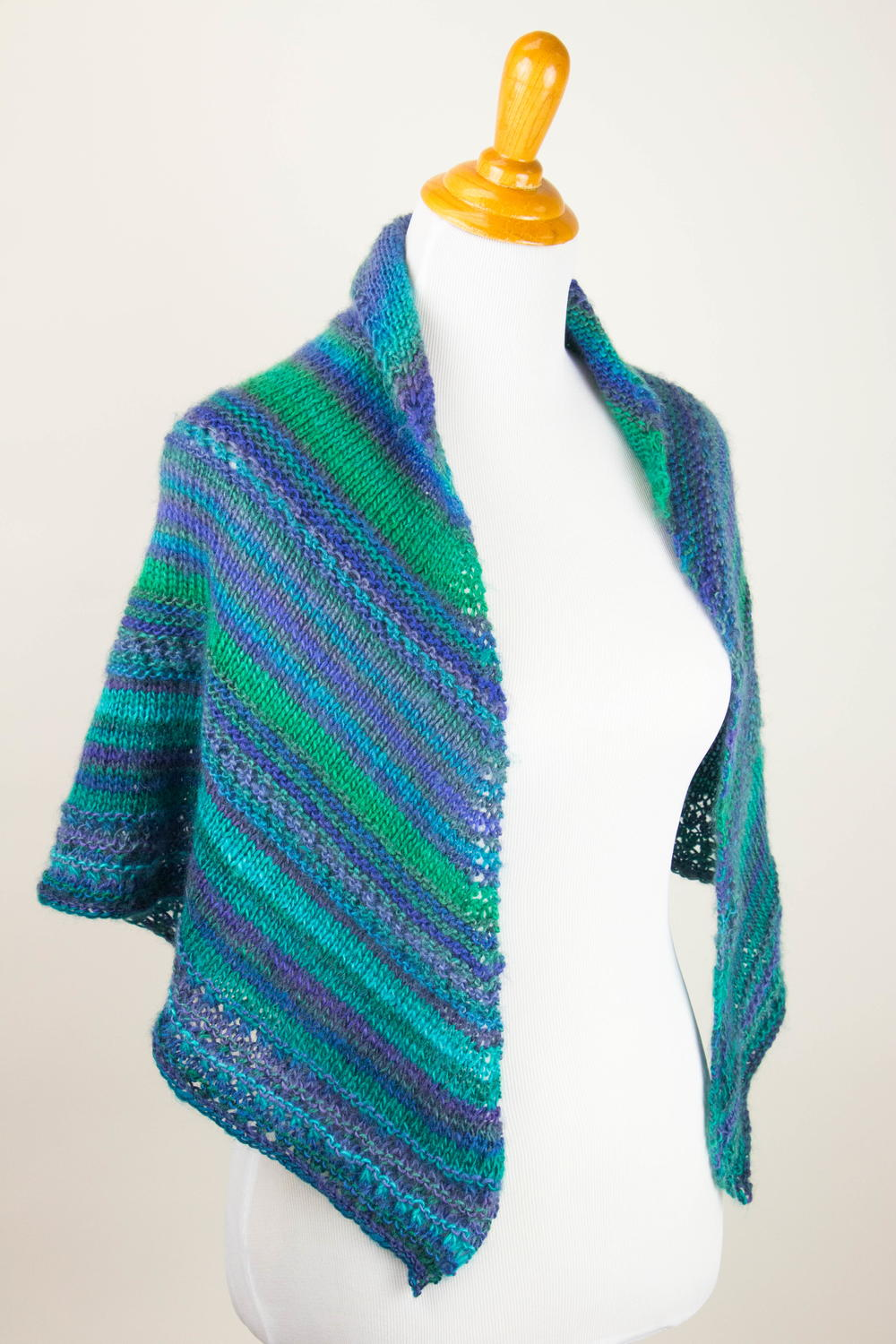 On the Wings of a Prayer Shawl | AllFreeKnitting.com