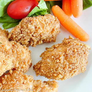 Weeknight Honey BBQ Chicken Nuggets