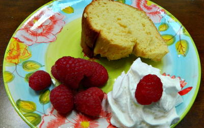 Bakery Style Cream Cheese Pound Cake