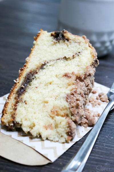 Starbucks Reduced Fat Coffee Cake