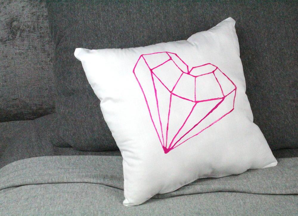 Faux embroidered pillow allfreekidscrafts