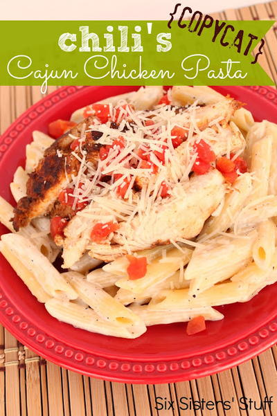 Chilis Copycat Cajun Chicken Pasta