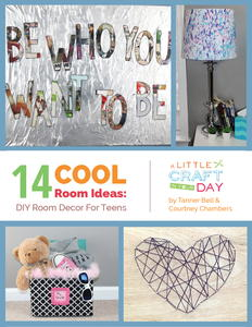 14 Cool Room Ideas: DIY Room Decor for Teens free eBook