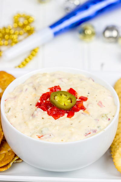 Five Minutes or Less Pimento Cheese Dip