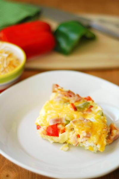 Slow Cooker Denver Omelete Casserole