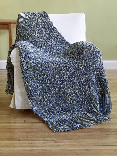 Under 6 Hours Crochet Throw Pattern Favecrafts