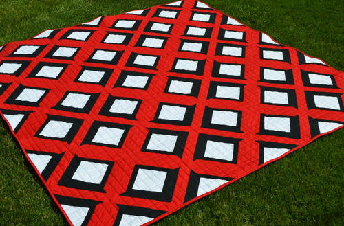Double Take Free Quilt Pattern