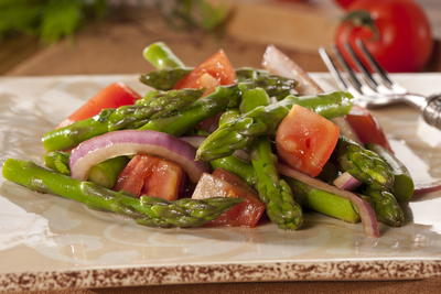 EDR Asparagus and Tomato Salad
