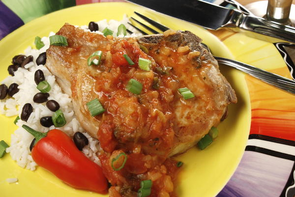 Salsa Pork Chops